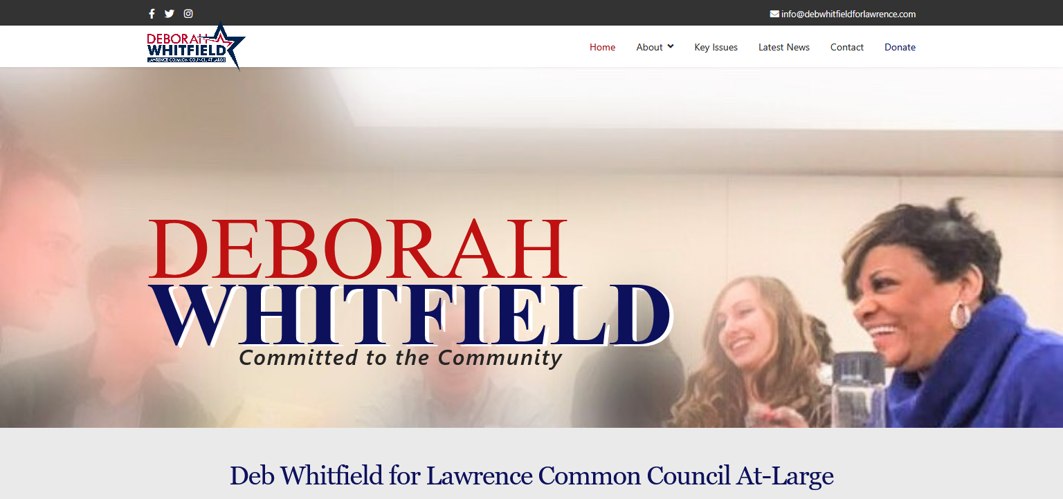 deb for lawrence home page